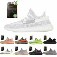 Wholesale casual shoes mens for sale - Group buy Top yez M yecheil yeshaya black static citrin cloud white reflective casual shoes gid glow true form clay mens women trainers