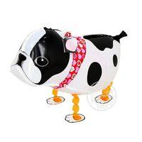 globo inflable para mascotas al por mayor-Jirafa dinosaurio Foil Balloon Walking Animal mascotas Inflable caminando Pet Balloon Decoración navideña Niños Toyst Cat Frog Duck Dog ballo