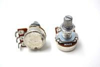 geteilte gitarre groihandel-Niko A250K / A500k / B250K / B500K E-Gitarren-Volumen-Ton-Töpfe Audio Tone Schalter Lange Split Shaft 18mm Potentiometer