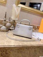 h tasarımcı çantası toptan satış-Tasarımcı-Harmers tasarımcı mini boyuta Timsah desen Killy çanta moda kılıf çanta kadın H çanta bag handbags