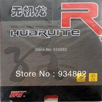 hrt tenis de mesa al por mayor-HRT Wujilong R2 Pips-In Goma para tenis de mesa (PingPong) con esponja