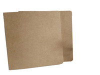boş kitap kapağı toptan satış-Özelleştirmek kraft kapak boş not defteri kitap vintage yumuşak lekelemek günlük notlar Kraft kapak dergi notebooklar not defteri
