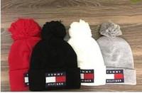 new york beanies venda por atacado-2019 Inverno New York Beanie NY gorros chapéu do crânio para homens mulheres malha Beanie de lã chapéu Homem Knit Bonnet Gorros Barrete Baseball Quente