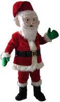 ingrosso casco di fabbrica-2019 sconto fabbrica vendita EVA materiale casco rosso Babbo Natale mascotte Costume Cartoon Apparel Natale compleanno