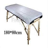 camas de spa al por mayor-Masaje médico desechable Cojín de cama no tejido especial Salón de belleza SPA Sábana dedicada