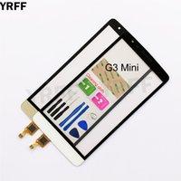 touchscreen für lg g3 großhandel-5.0 '' Touchscreen für LG G3 S Mini G3s D722 D724 D725 Digitizer Touchscreen Sensor-Noten-Glasobjektiv-Panel