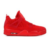 Wholesale michael basketball shoes for sale - Group buy 4 University Red Basketball Shoes men mesh summer trainers New Color Sneakers with Box from Michael Sports