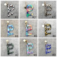 Wholesale multi tool opener resale online - 13style Portable Keychain No Touch Elevator Button Tools Contactless EDC Door Opener Key Tool Sunflower Leopard Keychain Party Favor GGA3445
