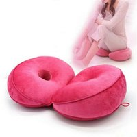Wholesale padding for hip resale online - 1PCS Pad Lumbar Coccyx Protect Lift Hips Up Seat Cushion Multifunction Memory Foam Seat Massage for Shaping Buttock Cushion