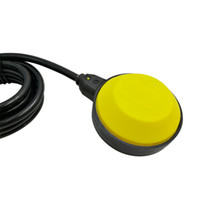 interruptor de nível flutuar venda por atacado-circular 2M Controlador Float Mudar Líquido Switches Líquido Fluido de Nível de Água Float Mudar Controlador Contactor Sensor