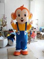 trajes de macaco para adultos venda por atacado-2019 new Hot sale Hip-Hop Macaco Dos Desenhos Animados adulto tamanho Mascot Costume Party Clothing Fancy Dress
