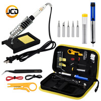 Wholesale iron solder tool kits for sale - Group buy Soldering Iron Kit V V60W Computer mobile phone Repair Tool Set
