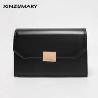 леди лента богемная оптовых- New shoulder bag for women Black messenger bags ladies bohemian leather handbag purse with Ribbons female crossbody bags