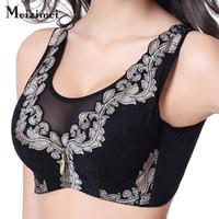 Wholesale super plus lingerie resale online - Meizimei Bras for Women s bra Super Push up Minimizer Plus big Large Size Bralette Sexy Lingerie Gather Underwear Brassiere