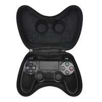 Wholesale ps4 carry bag resale online - EVA Hard Pouch Bag for Sony PlayStation4 PS4 Controller Case Portable Lightweight Carry Case Protective Cover for PS4 Gamepad