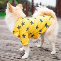 vestuário com preço de fábrica venda por atacado-Cão de pelúcia Camisas Polo Primavera Verão Colorido Roupas Pet Material Poromeric Pequeno Bebê Pet Fácil de Lavar Preço de Fábrica Suprimentos Do Cão Do Vestuário