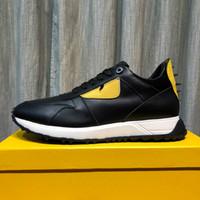 top model hommes chaussures de sport achat en gros de-Explosion modèles chaussures hommes mode designer chaussures de sport chaussures à talons hauts dessus en cuir dessus chaussures de course de luxe vente directe