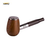 Wholesale mini wood pipes resale online - Kamry K1000 Mini Epipe Kit Built in mAh With ml Atomizer Wood Grain Body Pocket Size Portable E Pipe Vape Kit Authentic