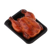 Wholesale chicken roast for sale - Group buy 1 Dollhouse Miniature Kitchen Toys Decor Miniature Chinese Cuisine Roast Chicken For Dolls House Supermarket Grocery Toys