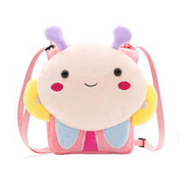 Wholesale plush cat backpack for sale - Group buy Lovely Plush Baby Toddler Infant Cat Purse Kids Messenger Bag Girls Cartoon Shoulder Bag Child Cute Animal Pattern Crossbody Bag
