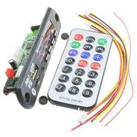 modules usb mp3 achat en gros de-Sans fil Bluetooth 12V MP3 WMA décodeur audio Conseil Module radio USB TF pour voiture Télécommande universelle