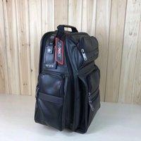 Wholesale 16 backpacks resale online - Designer MRTM D4 Men s Leather Business Travel Backpack inch Computer Bag Years New