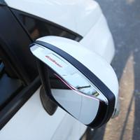 acessórios para espelhos retrovisores venda por atacado-Um Pouco Mudança Espelho retrovisor Do Carro Espelho retrovisor Varas ABS para Ford Ecosport 2012-2017 kuga Acessórios Do Carro