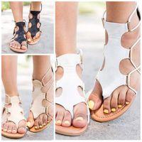 91931f664 Wholesale ladies thong sandals online - Bohemian Ladies Fashion Thong Sandal  Big Code Handmade Beads Sandals