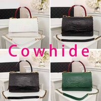 Wholesale crocodile brand genuine leather for sale - Group buy Luxury designer handbag new brand fashion crocodile pattern leather women tote bag designer Messenger bag