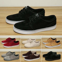 Wholesale janoski rubber shoes resale online - Fashion SB Stefan Janoski Shoes Running Shoes For Women Men High Quality Athletic Sports Trainers Sneakers Shoe Size Eur