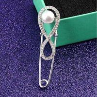 marcas de joyas de época al por mayor-Hombres Mujeres vintage Broche Completo CZ Joyería Clásica alfileres broches Regalos Calidad superior Nueva marca
