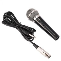 micrófono profesional de voz al por mayor-Handheld Professional Wired Dynamic Microphone Clear Voice para Karaoke Vocal Music Performance T190704