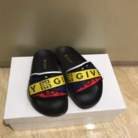 ingrosso sandali in pelle bianca per bambini-Pantofola per bambini per scarpe firmate in pelle da bambino sandali da spiaggia estivi Eu 26-35 invia con scatola colori bianco nero