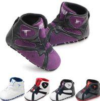 ingrosso i bambini imparano a camminare-scarpe neonato scarpe da passeggio scarpe da passeggio in pelle PU neonato neonato Walker infantile Prewalker Sneakers Scarpe KKA6739