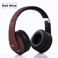 casque microphone sans fil pour pc achat en gros de-KD-B04 Bluetooth Headset Gaming Headset Fold Wireless Earphone HiFi Annulation Bruit Écouteur Portable avec Microphone pour PC / Téléphone