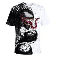 nuevas camisetas impresas al por mayor-Camisetas de hombre 2019 Recién llegado de impresión Moda Hombre Camisetas de manga corta de verano Casual de manga corta Tops Tamaño S-3XL