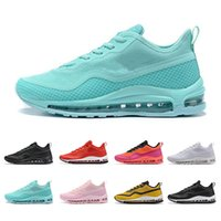 Wholesale cute pink shoes resale online - 2019 Top Quality Blue Gym Red Orange sequent Men Women Flats Running Shoes Cute Pink Triple Black Mens Ladies Trainers Designer Sneakers