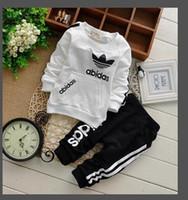 Wholesale vest t shirts boys resale online - Classic Luxury Logo Designer Baby t shirt Pants coat jacekt hoodle sweater olde Suit Kids fashion Children s Cotton Clothing Sets