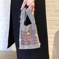 Wholesale bling clutch bags for sale - Group buy Rhinestone Designer Hand Bags Famous Brand Women Sequined Handbags Bling Bling Diamonds Ladies Clutch Bag Luxury Party Bag Y19061301