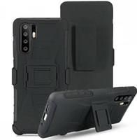 clips recouverts de silicone achat en gros de-Clip Ceinture Stand Armure Defender Case Pour Samsung Galaxy S10 Plus S10E S9 S8 S7 S6 Edge S5 NOTE 3 4 5 8 9 Housse Peau Antichoc Pivot 1