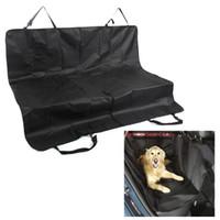 asientos de metal al por mayor-soporte para mascotas Seguridad para mascotas Impermeable Funda para asiento de automóvil para perros Alfombrillas Protector de hamaca Parte posterior trasera Soporte para asiento de automóvil para perros Productos