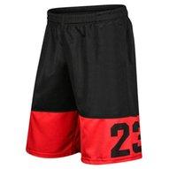 ingrosso nuovi pantaloni sportivi-Pantaloncini da uomo di nuova progettazione Pantaloncini da uomo di stile estivo Modello stampato Pantaloni corti casuali da uomo Pantaloni da jogging sportivi di marca