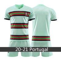 Wholesale portugal soccer shorts resale online - Soccer Jersey Portugal RONALDO ANDRE SIL VA BERNARDO Training Football Shirt Home Men Uniforms Player Outfits