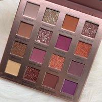 16 тени для век оптовых-16 цветов Nude Eyeshadow Sunrise импрессионизм косметика матовая мерцающая пудра пудра DHl Free