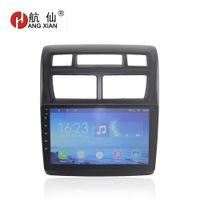 ingrosso radio di dvd del bluetooth-HANGXIAN Android 7.0 2 din Car DVD Player Multimedia di navigazione GPS per KIA Sportage 2008-2016 radio bluetooth wifi stereo