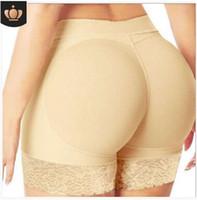butt lift unterwäsche großhandel-Frauen Butt Lifter Panty Gefälschte Po Body Shaper Gepolsterte Unterwäsche Lady Lift Bum