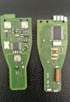 programador clave para mercedes benz al por mayor-Montar Junta de llave inteligente original Para Mercedes Benz 433 MHz para MB clave programador trabajar con todos