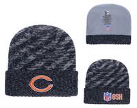 Men s Chicago Bears Biggest Fan 2.0 Cuffed Knit Hat Navy Thanksgiving  Cuffed Pom Knit Hat a13eba42f