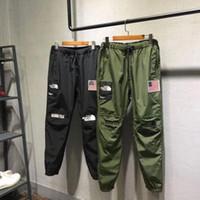 kaliteli spor giyim toptan satış-Açık spor pantolon Ortak marka süper Katılmak yüz pantolon Giyim erkek Tulumları Giyim Otantik Kalite ABD Boyutu S-XXL