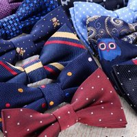 Wholesale high quality fashion bow ties for boys and girls printing bow ties neck wear children bow ties